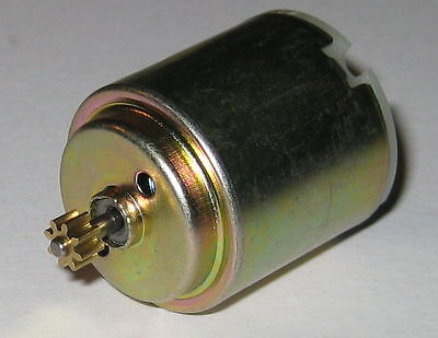 70 RPM 6 V DC Gearhead Hobby Motor 750 g-cm Torque Low Current 3 to 6 VDC