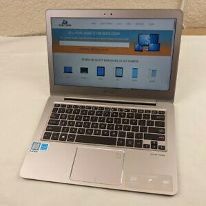"Asus ZenBook UX330U i5-7200U 2.50GHz 8GB RAM 256GB SSD 13.3"" FHD Backlit Win10H"