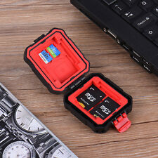 Waterproof Memory Card Storage Carrying Case Protector Box Holder for SD CF XD