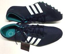 8329b9c774c Adidas Adizero Prime SP Track Spikes Sprint Shoes Navy Blue Sz 11.5 AF5662