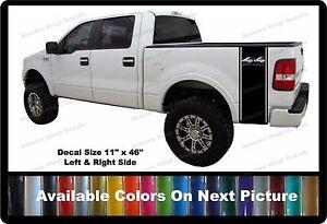 X Off Road Truck Bed StripesFits Ford Trucks Custom Decals - Truck bed decals custom