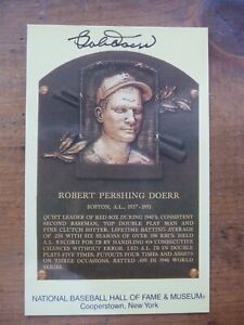Bobby-Doerr-autographed-HOF-postcard