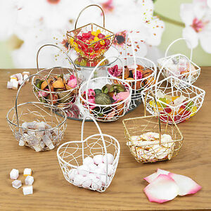 Assorted Wire Metal Mesh Wedding Table Fancy Decor Bridesmaid Small