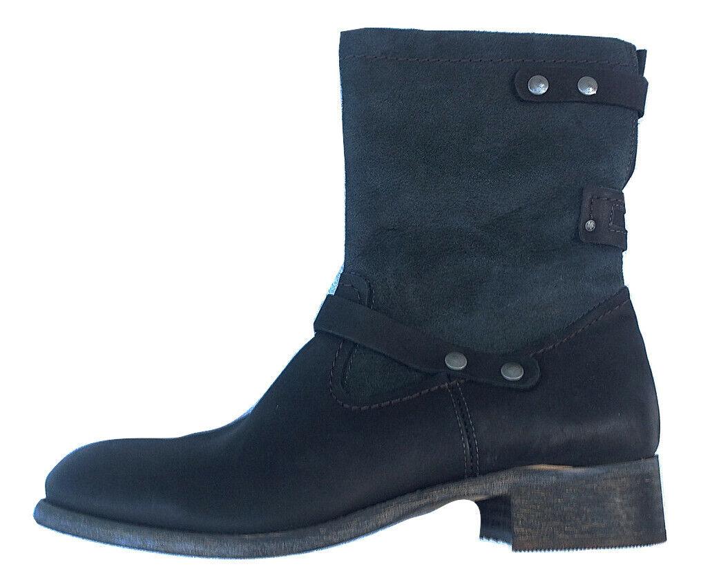 Dry Docks Damenstiefel Stiefel Damenschuhe 180286, schwarz, EU 41