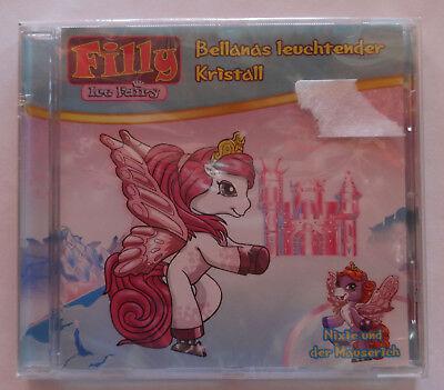 CD Filly Ice Fairy Bellanas leuchtender Kristall Nixie & der Mäuserich Hörspiel