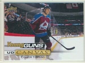 2019-20-Upper-Deck-Series-2-Rookie-Young-Guns-Canvas-C237-Conor-Timmins