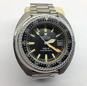 Certina DS 2 Super PH 1000 Rare Vintage Diver Automatic Watch Uhr Montre - <span itemprop='availableAtOrFrom'>Firenze, Deutschland</span> - Certina DS 2 Super PH 1000 Rare Vintage Diver Automatic Watch Uhr Montre - Firenze, Deutschland