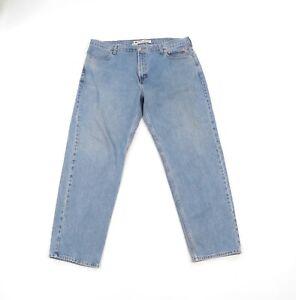 Vintage-90s-Harley-Davidson-Motorcycle-Mens-42x34-Distressed-Faded-Denim-Jeans