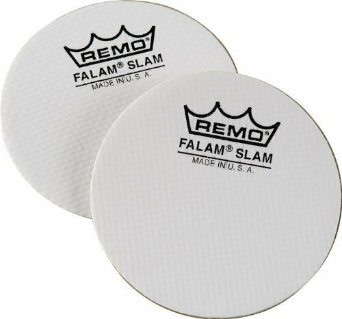 """Remo Falam Slam Patch for Bass Drum 2.5/"""" 2pack"""
