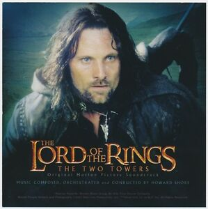 Howard-Shore-CD-The-Lord-Of-The-Rings-The-Two-Towers-Original-Motion-Picture