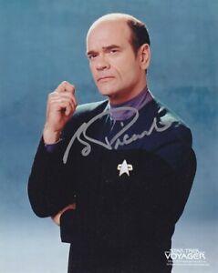 STAR TREK THE DOCTOR ROBERT PICARDO # 2 hand signed | eBay