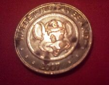 "2007 Chucky Cheese ""Where a kid can be a kid"" Game Coin Token Collectible"