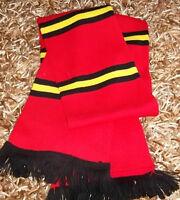 YELLOW & BLACK & RED BAR SCARF