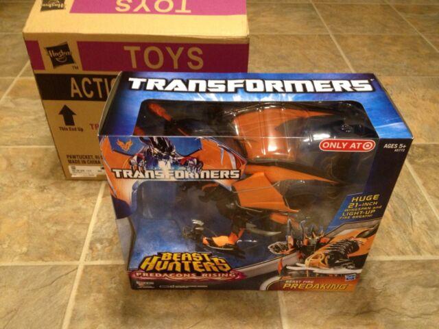 ** Transformers PREDAKING Beast Fire Predacons Rising (Beast Hunters, Hasbro) *