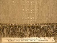 Woven Shimmering Textured Fabric Gold & Trim