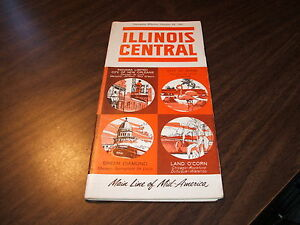OCTOBER-1961-ILLINOIS-CENTRAL-RAILROAD-SYSTEM-PUBLIC-TIMETABLES