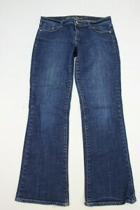 Old-Navy-Womens-Jeans-The-Sweetheart-Boot-Cut-Size-4-Short-Blue-Denim-28-Inseam