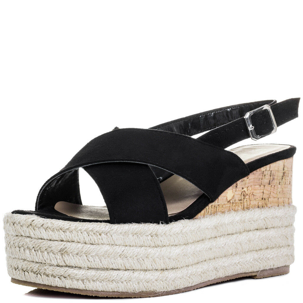 Cole Haan 3475 Womens Original Grand Black Flat Sandals 10 Medium (B,M) BHFO
