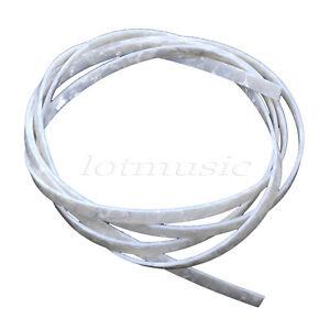White-Pearl-5-feet-Guitar-Celluloid-Binding-Purfling-Strip-6mm-width