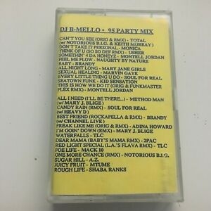 Details about DJ B-Mello Summer 95 Party Mix NYC 90's Hip Hop Cassette  Mixtape Tape