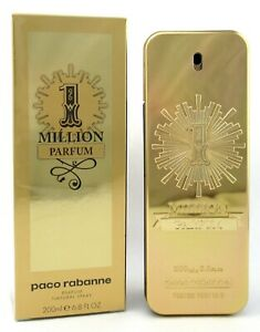 1 Million by Paco Rabanne 6.8 oz. PARFUM Spray for Men New in Sealed Box