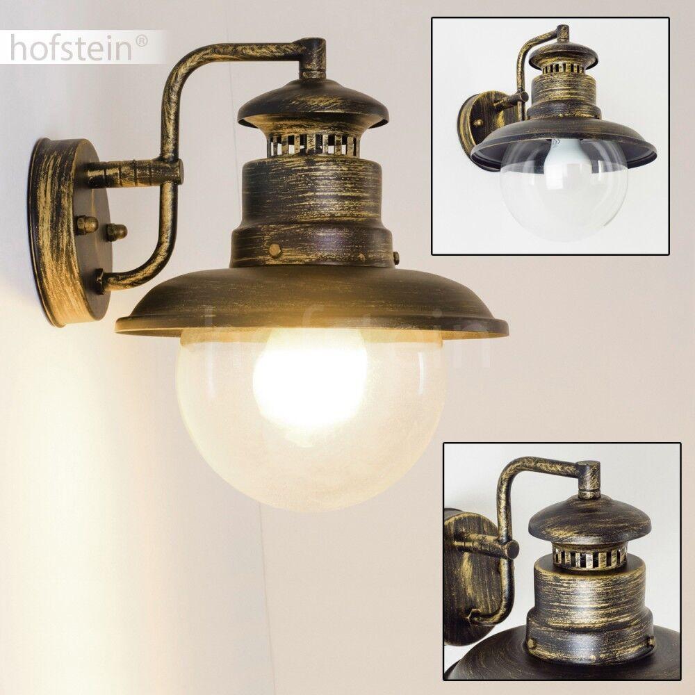 Aussenlampe Wandlampe Aussen Wand Leuchten Garten Terrasse Balkon Lampen Glas | Preisreduktion  | Billig  | Bevorzugtes Material