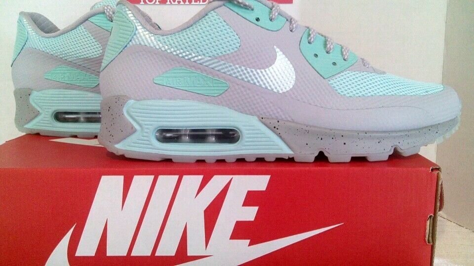 Nike premium air max 90 hyperfuse premium Nike - id blass mint green & grauen männer sz-9 1b8c77