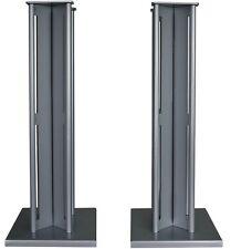 Partington Ansa 60 Speaker Stands (Pair) - Silver RRP £179.95