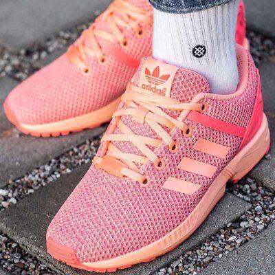 ADIDAS ZX FLUX SPLIT K Damen Damenschuhe Sneaker Turnschuhe Originals Neu AQ6292