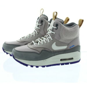 Boots 685267 Air Sneakerboot Shoes About Durable Nike Mid Max 1 Details Womens Waterproof Cut JcKl1F35uT
