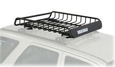 Yakima Roof Top Cargo Basket Rack LoadWarrior 44x39x6.5 Inch Black Steel 8007070
