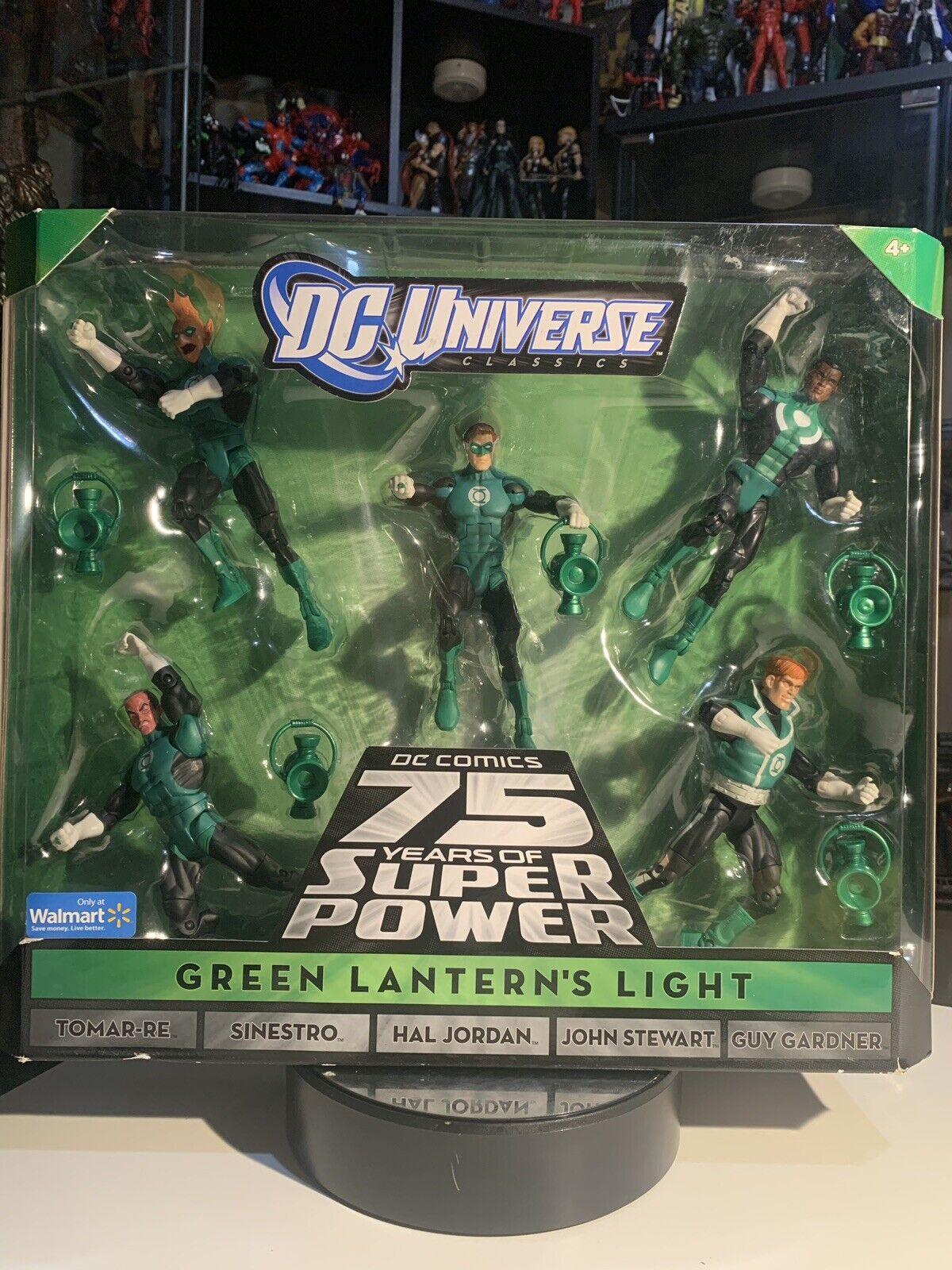 DC Universe classeics verde lanterns Light 5 Pack Preowned