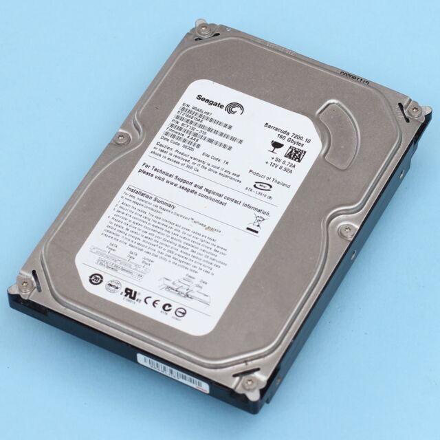 "160GB SATA 7200RPM 3.5"" Seagate Barracuda 7200.10 HDD ST3160815AS 9CY132-310"