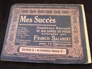 Partition-Mes-succes-salabert-clarinetto-si-b-o-sassofono-soprano-Si-B