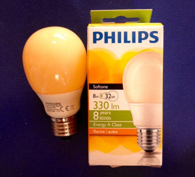 5 X Ampoule Softone Flame Terre Cuite 40w E27 Ampoule 40 Watt Ampoules