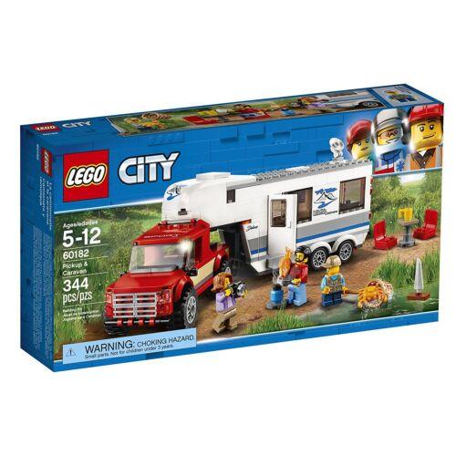 LEGO® City Pickup /& Caravan Building Play Set 60182 NEW NIB