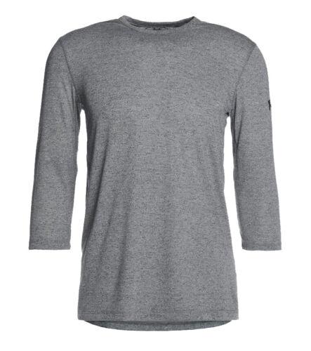 Under Armour UA Men/'s Training 3//4 utilitaire T-Shirt-Large-Gris Neuf