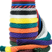 Golberg Solid Braid 3/8-inch Utility Rope Derby Rope Outdoor All-weather Mfp