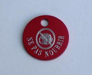 Ne-pas-nourrir-etiquette-d-039-identification