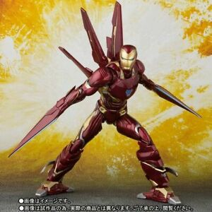 S-H-Figuarts-Avengers-Infinity-War-Iron-Man-MK50-Nano-Weapon-Set-Action-Figure