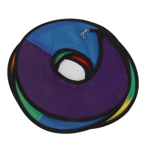 Nylon Regenbogen Spirale Windspiel Spinner Zelt Home Gartendekoration