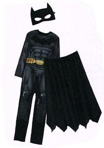 Batman-Kostuem-Fledermaus-Gr-L-50-54-3-teilig-Fasching-Karneval-Verkleidet