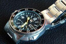 New Seiko 5 Automatic Map Meter SKZ211 Men's Watch
