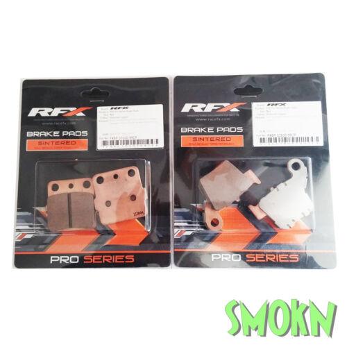 RFX Front /& Rear Brake Pads Honda CRF 150 07-18 2007-2019 Sintered Pro Series