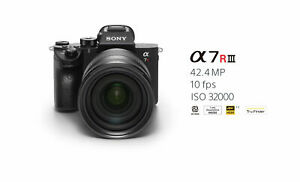 Sony Alpha a7R III Full-Frame Mirrorless Camera (Body Only) - BRAND NEW