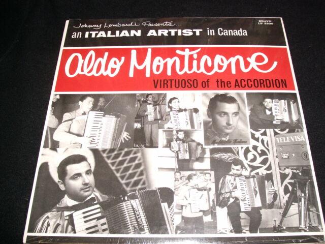 ALDO MONTICONE<>SELF TITLED<>*SEALED* Lp VINYL~Canada Pressing~BRAVO LP 2800