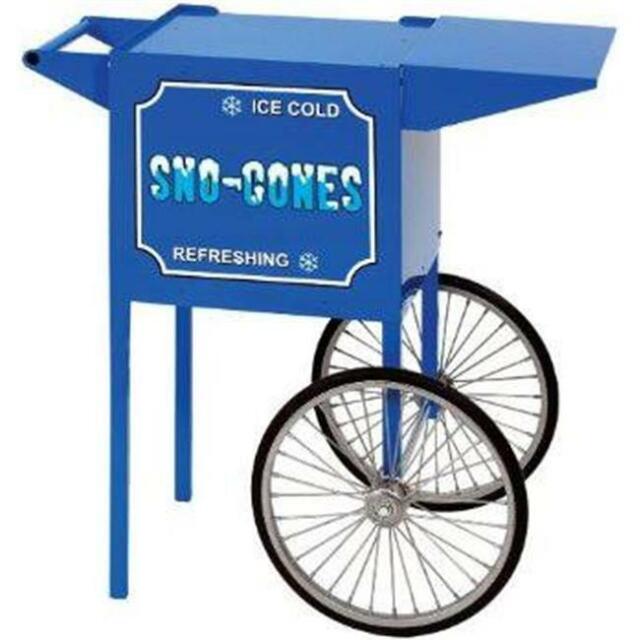 Paragon - Manufactured Fun 3080030 Small Sno Cone Cart in Blue