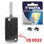 KIT-Boitier-Plip-Telecommande-pour-Cle-CITROEN-C4-Picasso-Berlingo-C2-C3 miniature 1