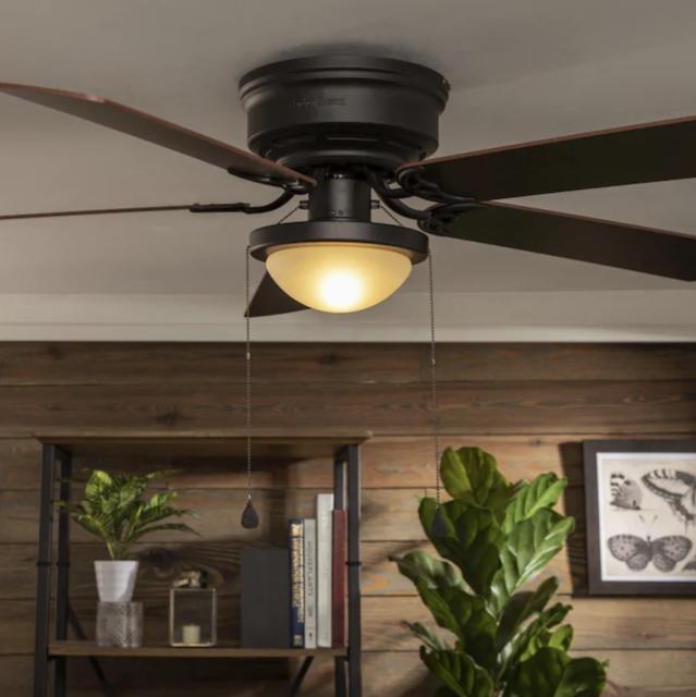 Indoor Maiden Bronze Ceiling Fan