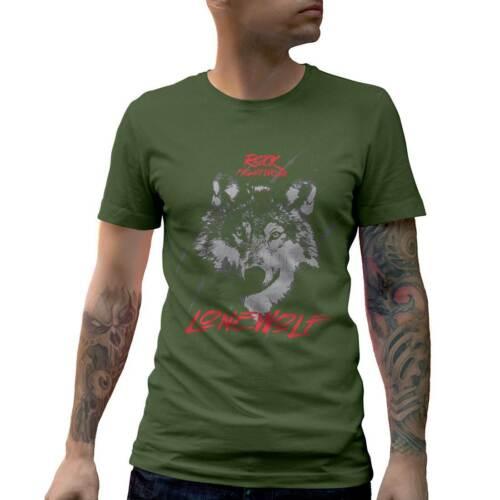 Wolf Fightwear Animals T-Shirt Nature Grey Hunter Canin Wild Dog Jackal Coy B776